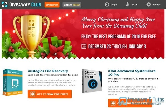 Offre promotionnelle : encore 10 logiciels commerciaux offerts pour Noël !