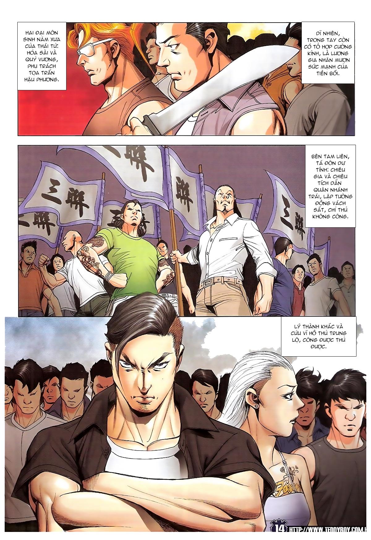 Người Trong Giang Hồ chapter 1829: khai chiến trang 12