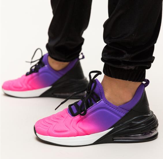 Adidasi femei moderni multicolori de primavara ieftini