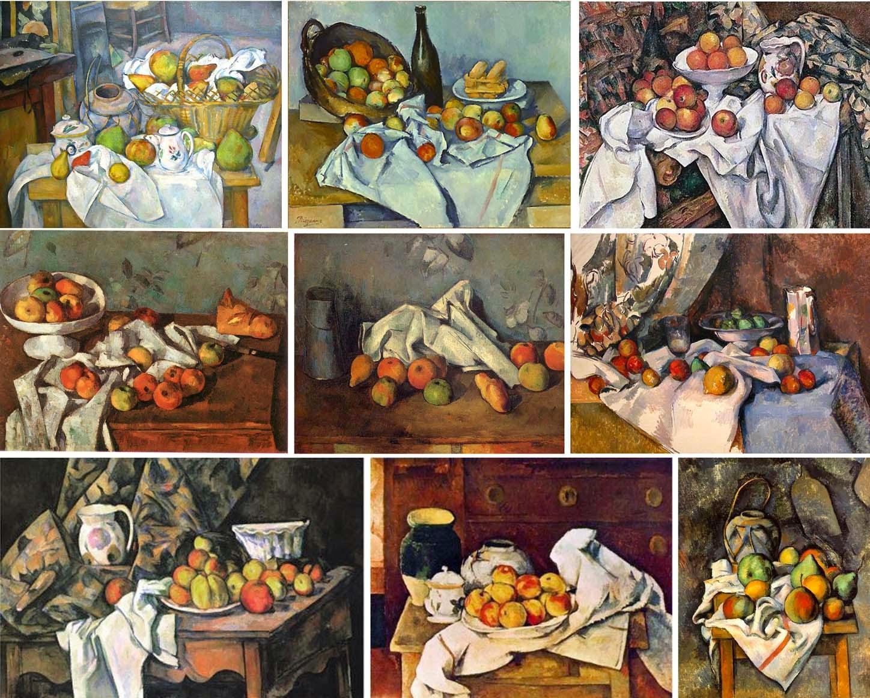 paul cézanne nature morte pommes et oranges