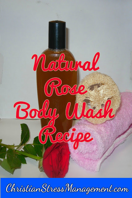 Natural Rose Body Wash Recipe