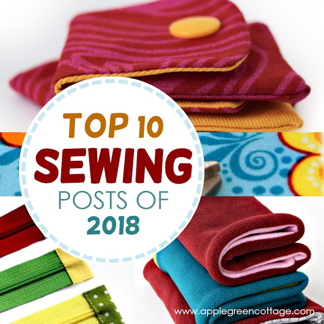 Top sewing projects of 2018