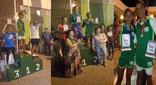Baraúna é 1º lugar no masculino e feminino na Corrida de rua em Remígio