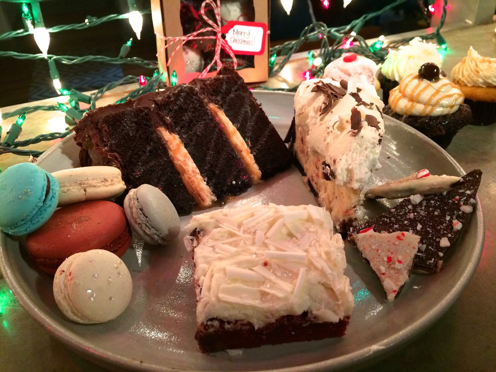 The smorgasbord of sugar from Les Amis Bake Shoppe