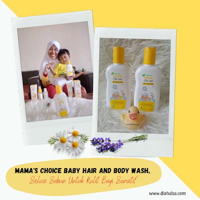 review hair body wash Mama's Choice