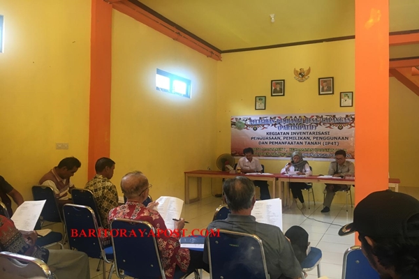 Tim BPN Pulpis Sosialisasi IP4T di Mantaren 1