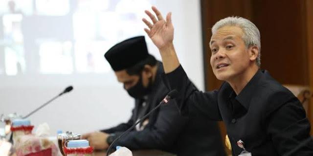 Kades Kritik Kerja Pemerintah Tangani Covid, Gubernur Jateng: Dia Stres