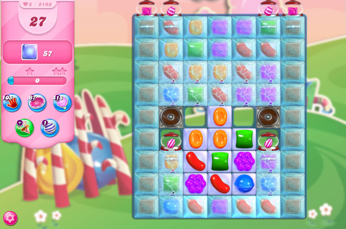 Candy Crush Saga level 5198