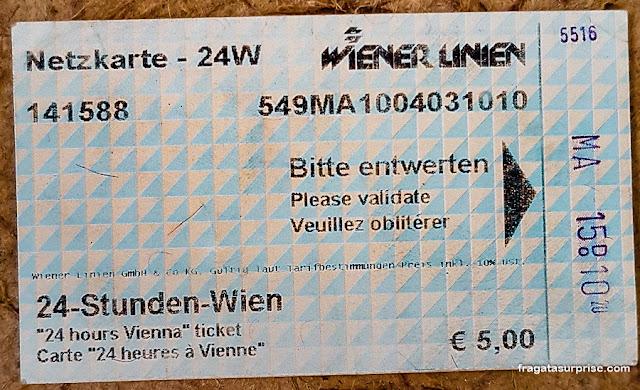 Transporte público em Viena, Áustria