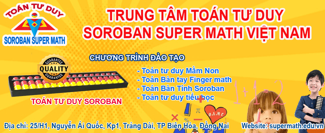 Khai giảng toán finger math tại Biên Hòa
