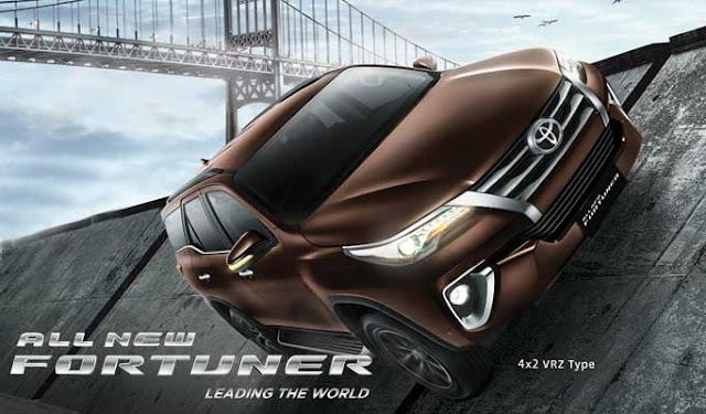 Spesifikasi Harga Kredit & Cicilan Toyota Fortuner Surabaya