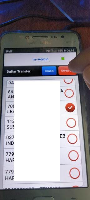 Cara Menghapus Nomer Rekening Pada Daftar Transfer Aplikasi Mobile Banking BCA