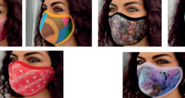 كوفيد -19: إيما تطلق أقنعة رسمها فنانون عرب