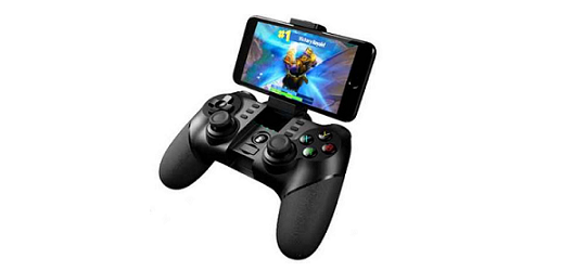 Womdee Wireless Bluetooth Mobile Game Controller with Gamepad