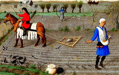 Kemajuan pertanian eropah