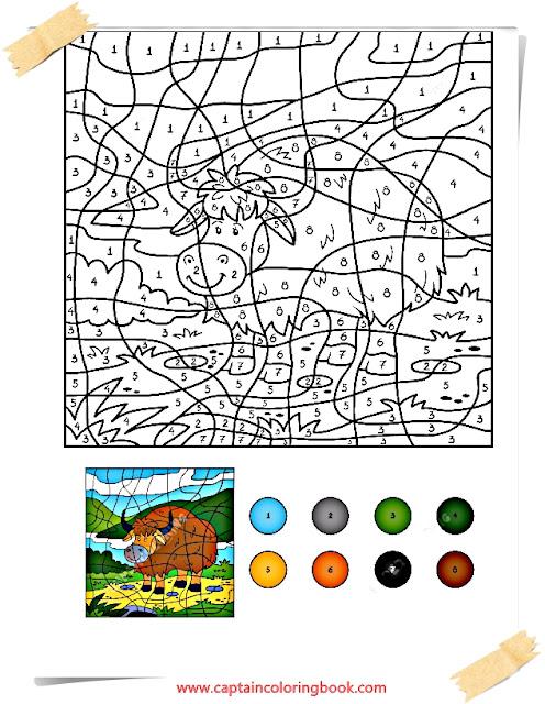 Ausgezeichnet Urlaub Farbe Nach Anzahl Arbeitsblatt Galerie ...