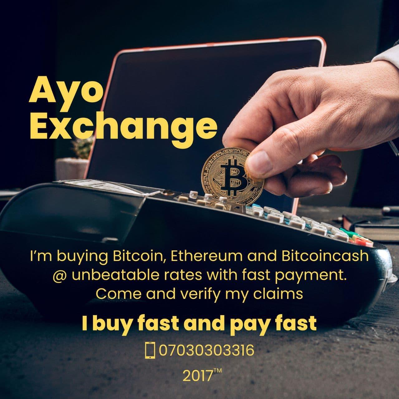 Ay Crypto Exchange