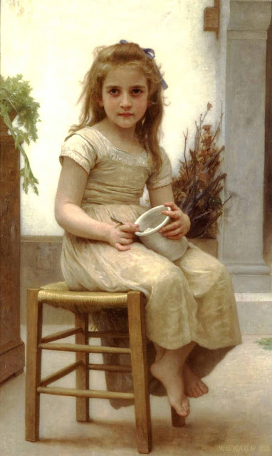 Адольф Вильям Бугро - Угощение (1895)