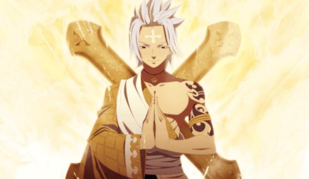 Larcade Dragneel - Anggota Spriggan 12 di Anime Fairy Tail