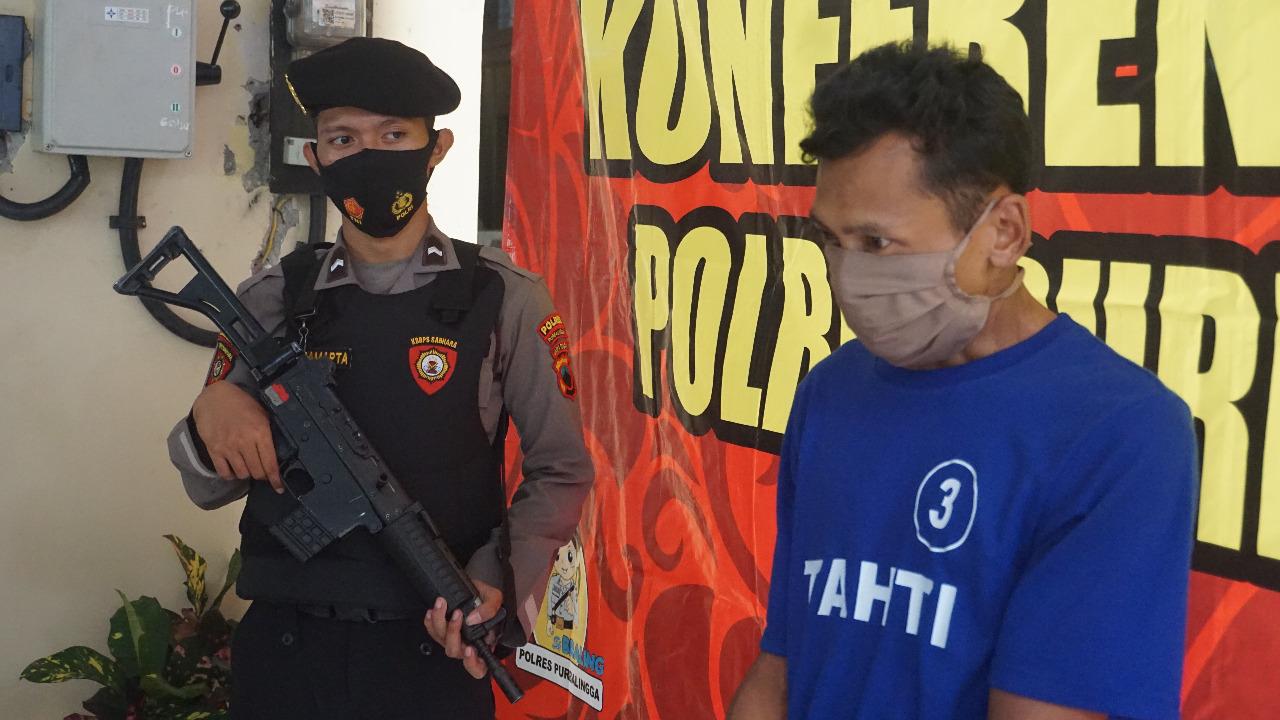 Residivis Curanmor Asal Banjarnegara Ditangkap di Purbalingga, Satu Unit Motor Diamankan Polisi
