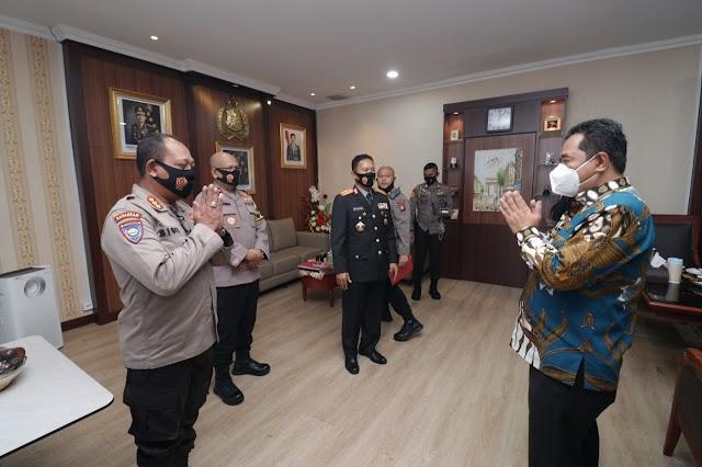 Audiensi Dan Silahturahmi Kapolda Kepri Bersama Penjabat Sementara (Pjs) Gubernur Kepri