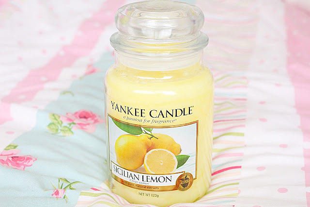 Yankee Candle Sicilian Lemon Review