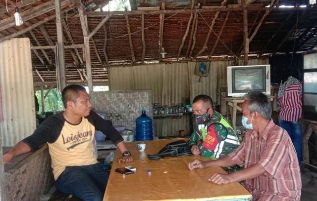 Budaya Gotong Royong Disosialisasikan Personel Jajaran Kodim 0207/Simalungun Dengan Terapkan Protkes