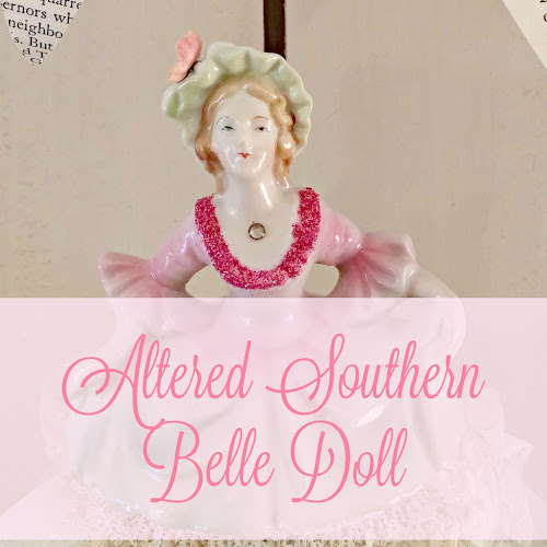 Altered Southern Belle Doll