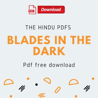 Blades In The Dark Pdf Free Download