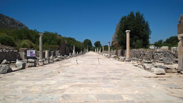 Efes Antik Kenti Mermer Cadde
