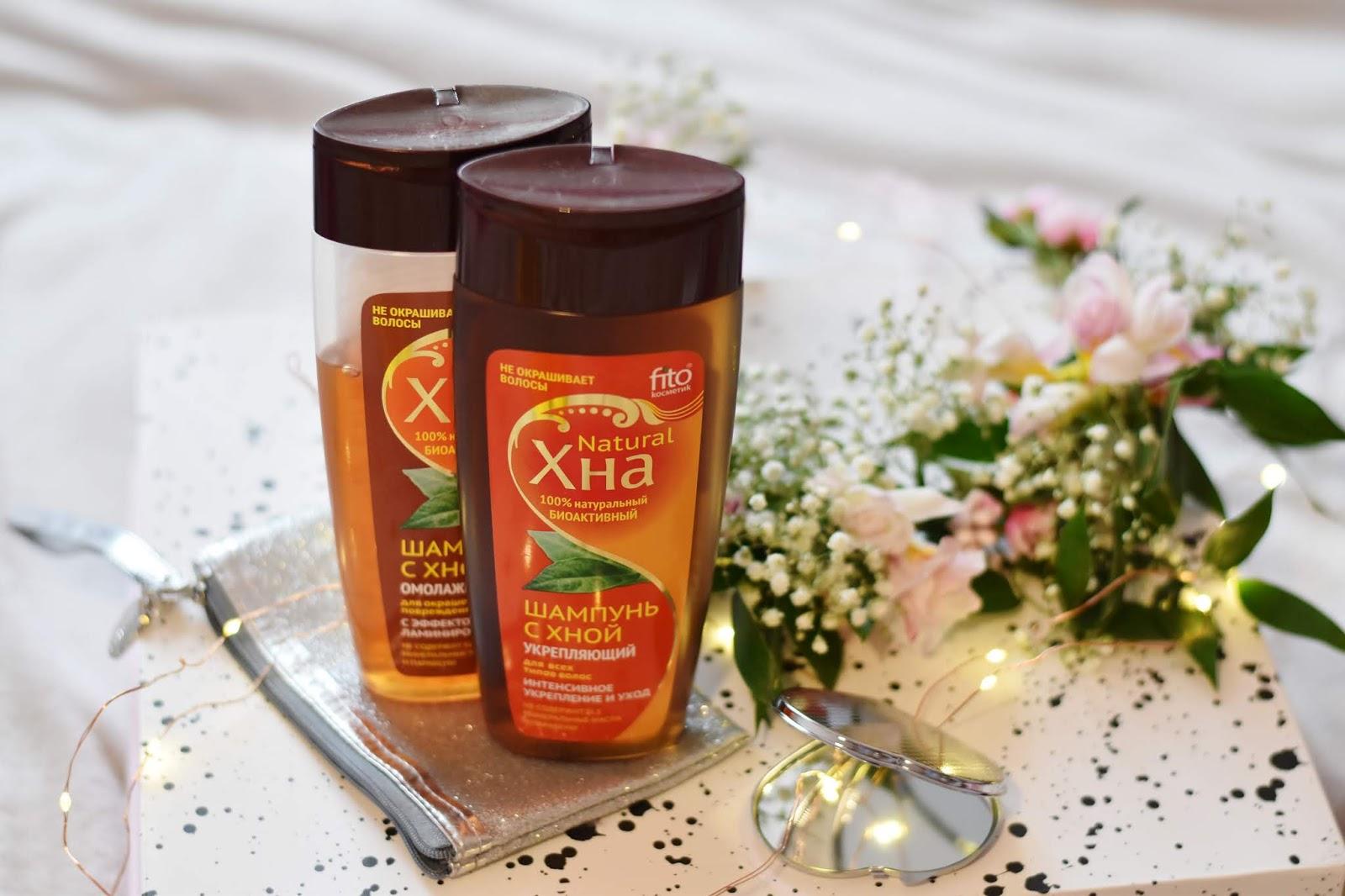 Fitokosmetik szampon z henną