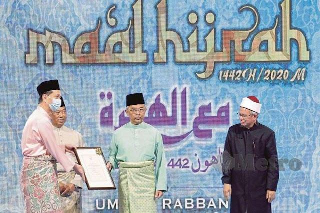 KETUA Pengarah Kesihatan, Tan Sri Dr Noor Hisham Abdullah diumumkan sebagai Tokoh Maal Hijrah Peringkat Kebangsaan 1442H