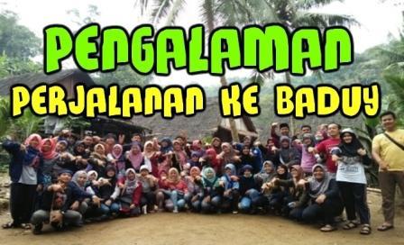Pengalaman Mengunjungi Suku Baduy atau Orang Kanekes - kangizal.com faizalhusaeni.com