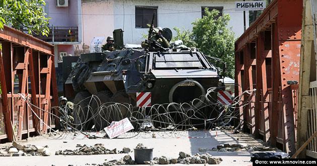 #Kosovo #Metohija #Srbija #KFOR #Napad #Zvečan