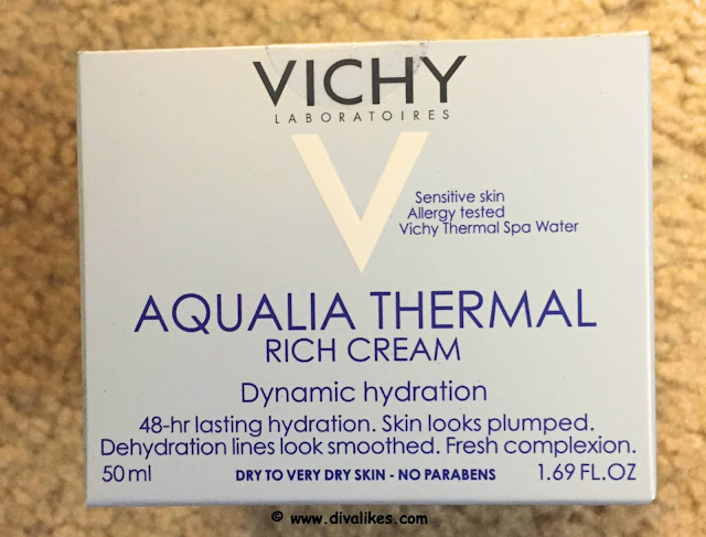 Vichy Aqualia Thermal Rich Cream Dynamic Hydration