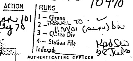 Document Exploitation: More CIA Records on Noam Chomsky