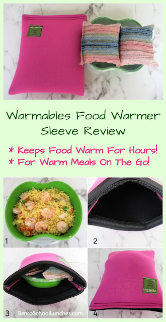 Warmables Food Warmer Sleeve Review