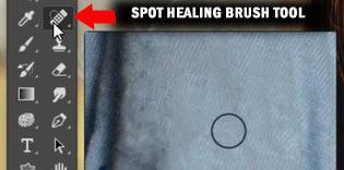 Photoshop spot healing
