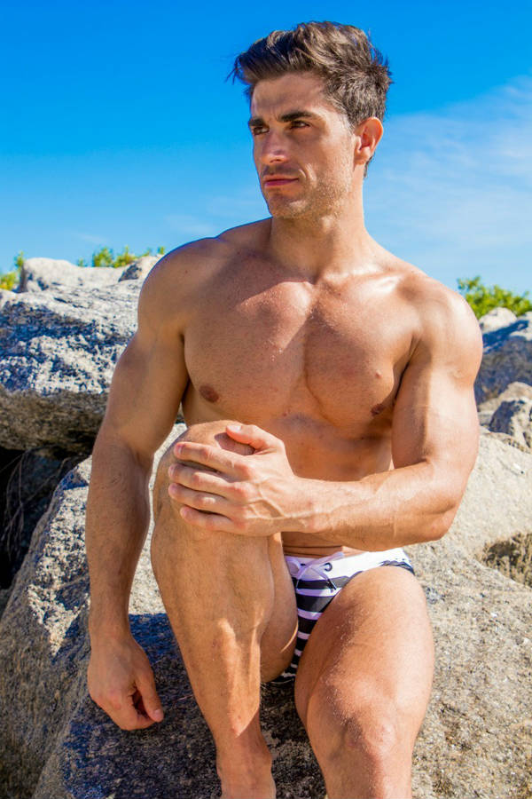 Fitness Model Ivan Fuentes Shirtless by Vaclav Zabransky