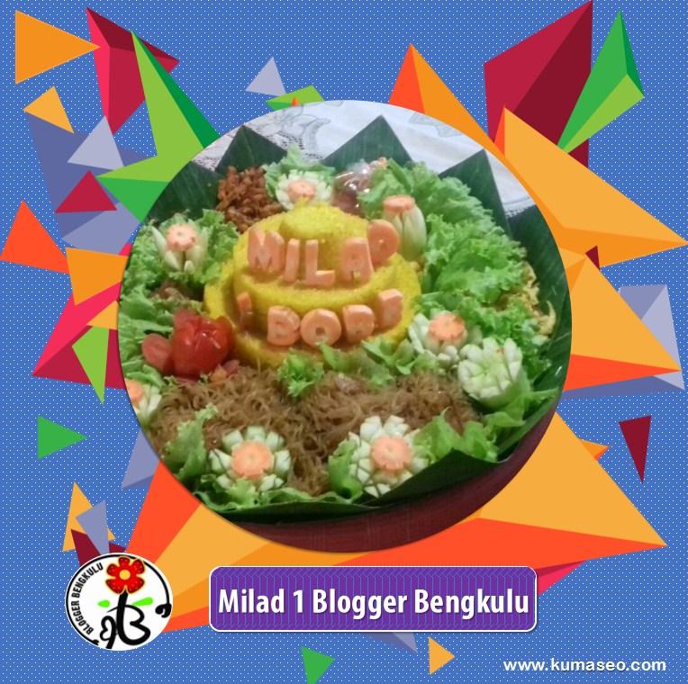Blogger Bengkulu, Milad Blogger Bengkulu, HUT ke-1 Blogger Bengkulu