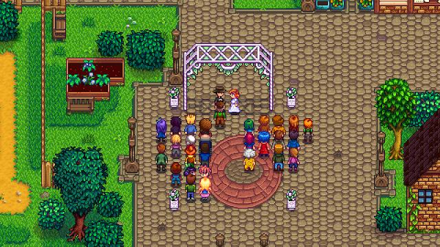 Resepsi pernikahan, untuk bisa menikahi salah satu NPC. Player harus memenuhi syarat tertentu.