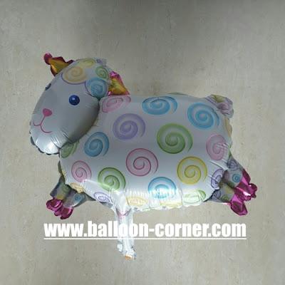Balon Foil Domba Mini