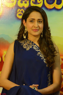 Pragya Jaiswal in beautiful Blue Gown Spicy Latest Pics February 2017 130.JPG