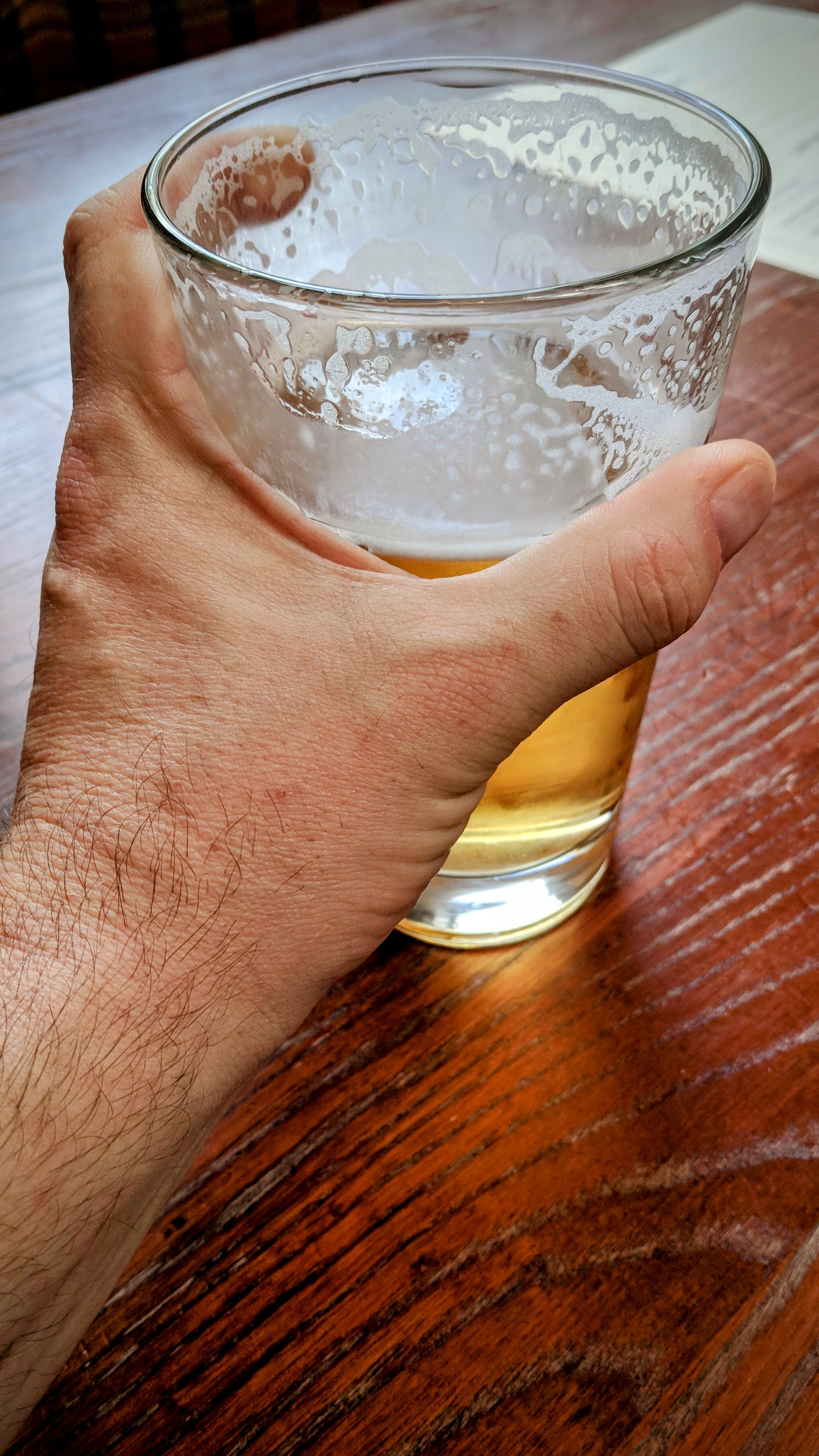 Reaching For The Pint