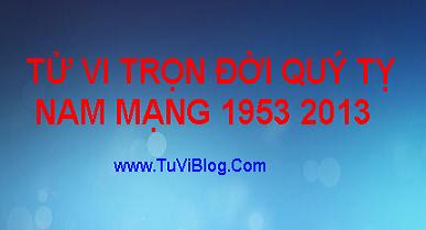 TU VI QUY TY 1953 2013