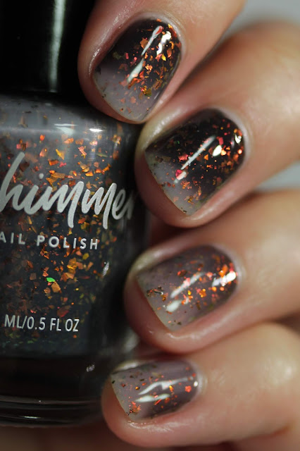 KBShimmer All Fired Up swatch by Streets Ahead Style