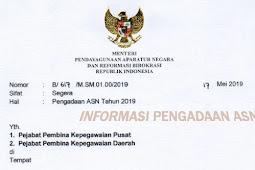 Formasi CPNS dan PPPK  Tahun 2020