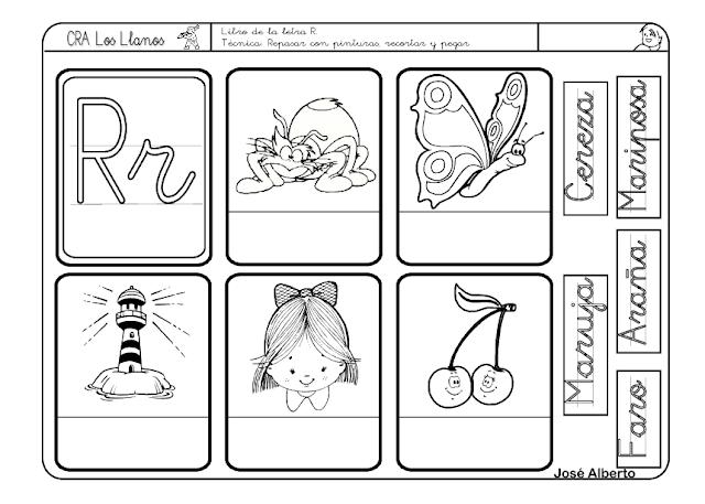 Dibujos Para Colorear Con La Letra Rr Imagui