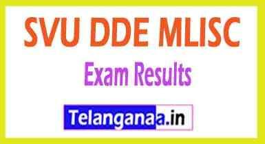 SVU DDE MLISC Results