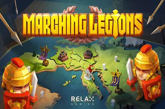 ULASAN SLOT RELAX GAMING MARCHING LEGIONS